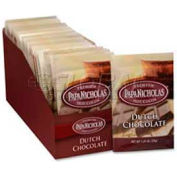 PapaNicholas Premium Hot Cocoa Mix, Dutch Chocolate, 1.25 Oz., 24/Box