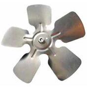 "Packard Small Aluminum Blade w/ Hub - 8"" Diameter 1/4"" Bore CCW Rotation"