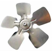 "Packard Small Aluminum Blade w/ Hub - 8"" Diameter 5/16"" Bore CCW Rotation"