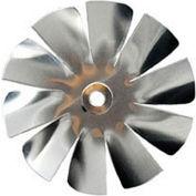 "Packard 10 Blade Small Aluminum Blade - 3/16"" Bore 4 1/2"" Diameter"