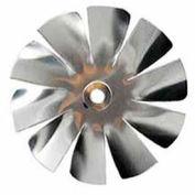 "2"" Small Aluminum Fan Blade 3/16"" Bore 10 Blade - Min Qty 9"