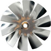"Packard 10 Blade Small Aluminum Blade - 3/16"" Bore 4"" Diameter"