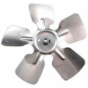 "Packard Small Aluminum Blade w/ Hub - 8"" Diameter 1/4"" Bore CW Rotation"