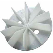 "Packard Plastic Blower Wheels And Blades - 3/16"" Bore 4 1/2"" Diameter"