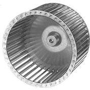 "9 31/32"" Galvanized Steel Blower Wheel - 1/2"" Bore CCW"