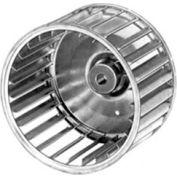 "Fasco Galvanized Steel Blower Wheel - 8 5/64"" Diameter 1/2"" Bore - Pkg Qty 3"