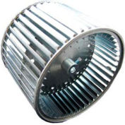 """Double Inlet Direct Drive and Blower Wheel - 1/2"""" Bore 9-1/2"""" Dia 6"""" W"""