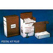 """Pac Strapping Polypropylene Kit w/ Tensioner & Buckles, 3000'L x 1/2"""" Strap Width Coil, White"""
