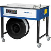 Global Industrial™ Polypropylene Strapping Machine w/ 1 Free Strapping Roll, Blue