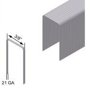 "22 Gauge Staple - 1/2"" Length - 3/8"" Crown - Galvanized Steel - Pkg of 150000"