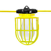 Hang-A-Light® 11108050 50 ft. String Light - Plastic Cages - NO BULBS, 5 Sockets, 14/2 SJTW