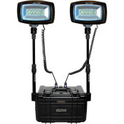 NightSearcher® 512000LITH Solaris Duo LED Portable Rechargeable Light Li-Ion 28000 Lumens