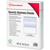 "Docugard Security Business Checks with Marble Top 8-1/2"" x 11"" Blue 500 Sheets/Pack"