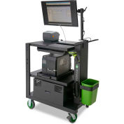 """Newcastle Systems PC Series Mobile Powered Workstation, 35.5""""W x 26""""D, 100AH Battery"""