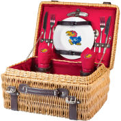 Champion Picnic Basket - Red (University of Kansas Jayhawks) Digital Print