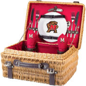 Champion Picnic Basket - Red (University of Maryland Terrapins/Terps) Digital Print