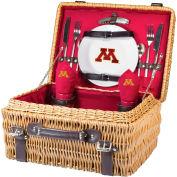 Champion Picnic Basket - Red (University of Minnesota Golden Gophers) Digital Print