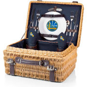 Champion Picnic Basket - Navy/Slate (Golden State Warriors) Digital Print
