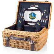 Champion Picnic Basket - Navy/Slate (Golden State Warriors) Digital Print