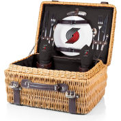 Champion Picnic Basket - Black (Portland Trailblazers) Digital Print