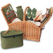 Picnic Time Somerset Willow Picnic Basket
