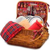 Picnic Time Highlander Willow Picnic Basket