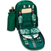 Picnic Time Capri Picnic Backpack, Hunter Green