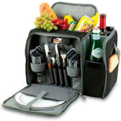 Picnic Time Malibu Picnic Pack, Black