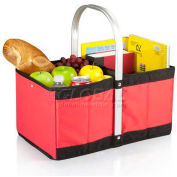 Picnic Time Urban Folding Basket, Red