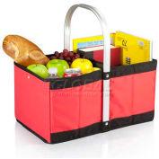 Picnic Time Urban Folding Basket, Red