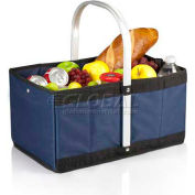 Picnic Time Urban Folding Basket, Navy