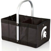 Urban Basket - Black (Michigan State Spartans) Digital Print