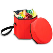 Picnic Time Bongo Six-Sided Cooler, Red