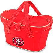 Mercado Basket - Red (San Francisco 49ers) Digital Print