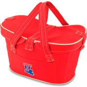 Mercado Basket - Red (Louisiana Tech Bulldogs) Digital Print
