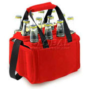 Picnic Time Twelve Pack Cooler Tote Red