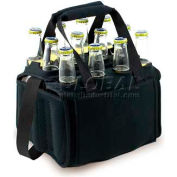 Picnic Time Twelve Pack Cooler Tote, Black