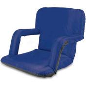 "Picnic Time Ventura Seat 618-00-138-000-0, 20""W X 2""D X 32""H, Blue"