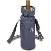 Picnic Time Wine Duffel Insulated Single-Bottle Tote, Carnaby St.