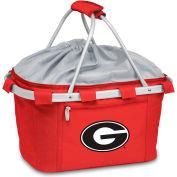Metro Basket - Red (U Of Georgia Bulldogs) Digital Print