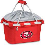Metro Basket - Red (San Francisco 49ers) Digital Print