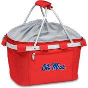 Metro Basket - Red (U Of Mississippi Rebels) Embroidered
