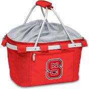 Metro Basket - Red (N. Carolina State Wolfpack) Embroidered