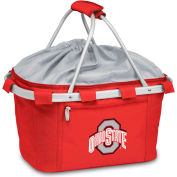 Metro Basket - Red (Ohio State Buckeyes) Embroidered