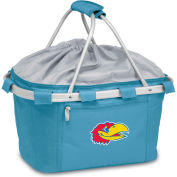 Metro Basket - Sky Blue (U Of Kansas Jayhawks) Embroidered