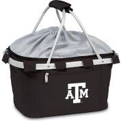 Metro Basket - Black (Texas A & M Aggies) Embroidered