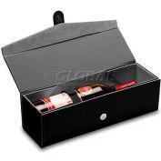 Picnic Time Bardolino Single-Bottle Wine Box Black