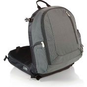 Picnic Time Navigator Stadium Seat & Cooler Backpack Gray/Black