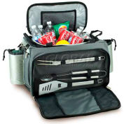 Picnic Time Vulcan Tailgating Cooler and Propane Barbecue Set