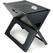 Picnic Time X-Grill Folding Portable Charcoal BBQ Grill with Carry Tote